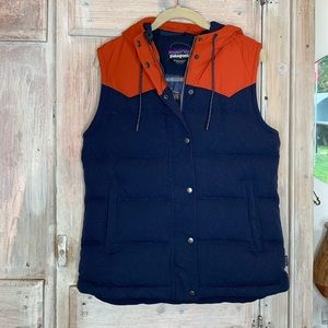 Patagonia   Bivy Down Orange and Blue Vest